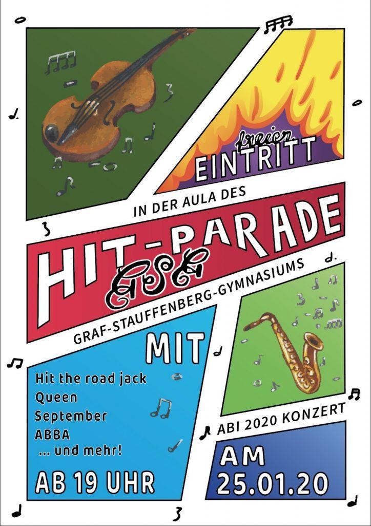 Plakatwerbung zu Konzert